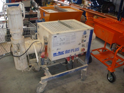 Maquina proyectar mortero segunda mano materiales de - Material de construccion segunda mano ...