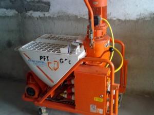 Maquina de proyectar poliuretano